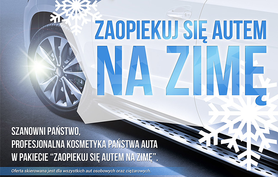 Pakiet ZIMA dla salonów samochodowych